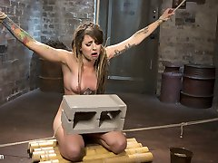 Missy is back after a long time away. She is put in brutal bondage and made to suffer every...