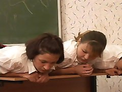 Brutal classroom punishments for 5 pretty school girls