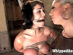 Sexy Beverly Hills gets roughed up and abused by Lorelei Lee in this hot update. While chained...