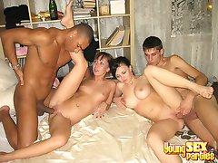 Unforgettable foursome