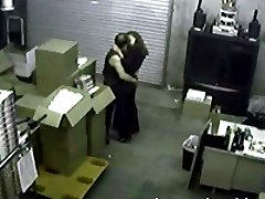Horny couple get it on behind some boxes in these movies