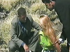 Nikki Anderson - Bitch fucked by two Cops