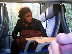 Flashing a hot black girl-Flostylez