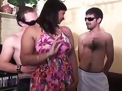 BBW Group Sex #2 (Cheating Chubby MILF Indian Wife Returns)