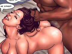 Black Is Better (Interracial Comics Compilation)