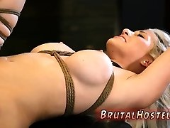 Slutty fat brunette working as guard lets a guy in after he pounds her meat hole