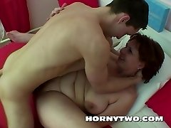 His lusty BBW lady friend is a hot slut and he gives her a great hardcore fucking