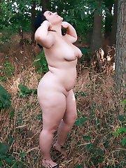 Fat older nudist females