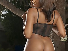 Big Black Tits and Ass... that39s Candace Von! When you see those big Chocolate Milk Jugs all...