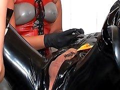 Cynthias rubber slave