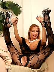 50 year old MILF is smokin hot and down for black cock!