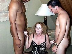 Swinger s wife has been invited to the private party. She has been fucked by many men all night...