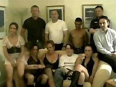 British swingers swapping their wives and getting completely nasty