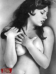 Vintage model June Palmer