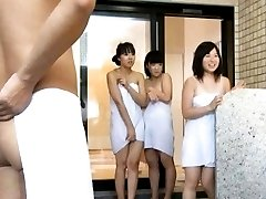 Japanese AV Model and babes in towels are PublicSexJapan.com