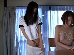 Asian Schoolgirl Makes Teacher Lesbian Pet Part 2
