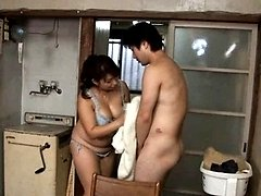 Yukari Orihara Asian has huge jugs fondled by JapaneseMatures.com