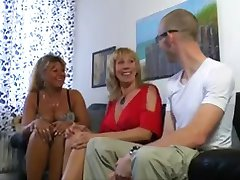 2 sweet mature mom & lucky guy