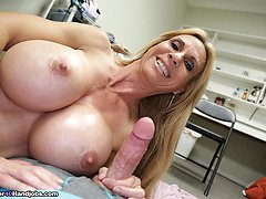 Swab My Knob, BrookeTyler - MILF and Mature Handjob Videos Over 40 Handjobs