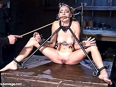 Missy is a sweet young pain slut that doesnt seem like she can take much punishment. She is...