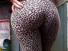 Leopard ass