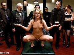 Jessie Cox gets bound with tape and made to cum struggling like a little worm on the ground. Her...