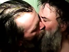 Homeless dudes barebacking in the shower
