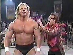 Wrestlers Bouncing their pecs