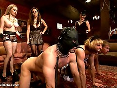 If you missed the LIVE Divine tea party last week this is the edited version of this INTENSE shoot complete with all the evil humiliation, feminization, bisexual humiliation, whipping, fierce pegging, pet play, ass licking, foot worship and so much more! The entire day is a fem dom free for all and the Divine rule this tea party like none other you've ever seen. Watch Dixie (Sean Spurt) as he is transformed into a she and must service all people female AND male or gimp at the party just to amuse the Bitches! This was Sean's most intense shoot to date from ANYWHERE and is not to be missed!