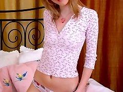 Kinky petite teen tits girl