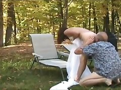 Mature couple outdoor