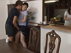 Asian girls seduced and sexed in pantyhose
