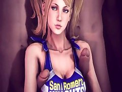Juliet Starling 3D sex compilation (Lollipop Chainsaw)
