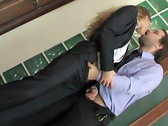 Russian office beauty