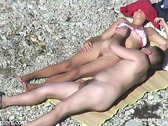 branlette a la plage