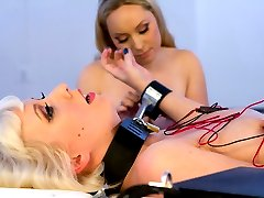 We cant get enough of blonde bombshell Cherry Torn here at Electrosluts. You wont want to miss...