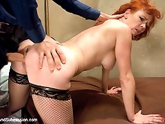 The one and only Audrey Hollander is the ultimate submissive and makes her debut here with James...