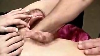 This naughty cheerleader takes her uniform off and plays with her shaved twat in this nasty solo