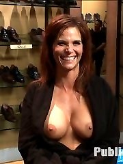 Fucked and disgraced in public! All in a days work for a professional submissive. Syren De Mer...
