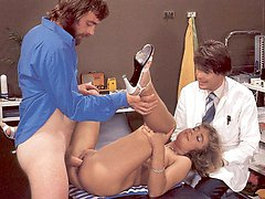 Seventies lady gets shaved