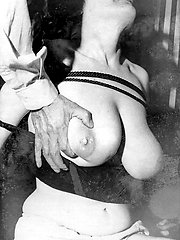 Coming from the filthy 1950s, boob bondage and milky goings on!