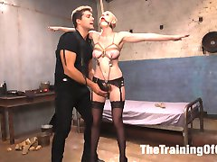 When tough and sexy Riley Nixon submits to slave trainer Ramon Nomar, she endures his twisted...