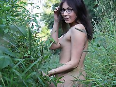 Young Russian nudist girls on camera