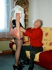 Never too old for misbehaving - never too old for a spanking