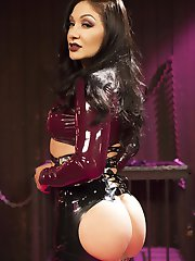 The Dollhouse series returns with bombshell barbie doll, Missy Martinez and hot latex clad...