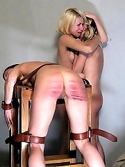 A spanking and humiliation nightmare for 3 young ladies