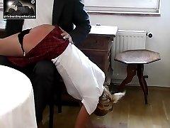 Stuck up slut learns a painful lesson
