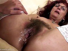 A pretty babe who loves sex so much she cums like a man