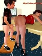 Juicy 3D Porn