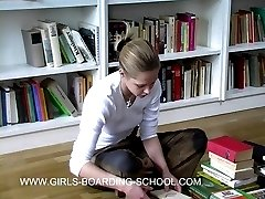 Linda caned on the bared